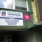 nowa siedziba spóldzielni ( poprzdni budynek oddano za długi podwarszawskiej firmie