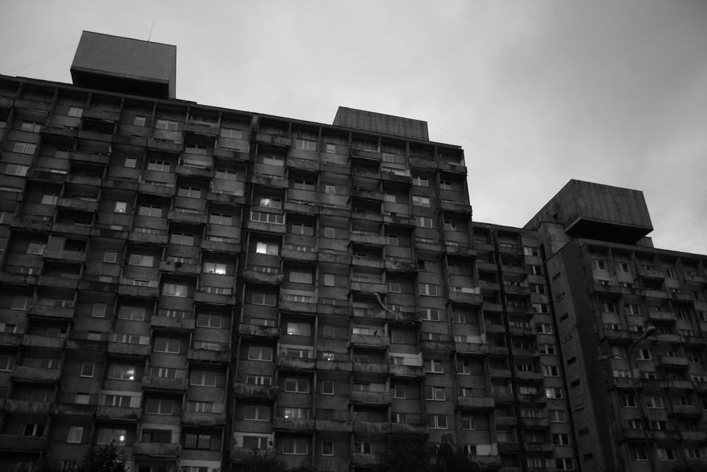 ponury Manhattan w Łodzi jpg