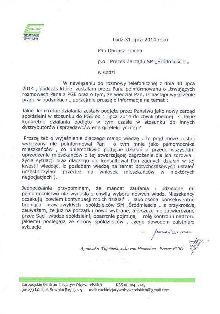 ECIO do Zarządu SM Ś 31_07_14