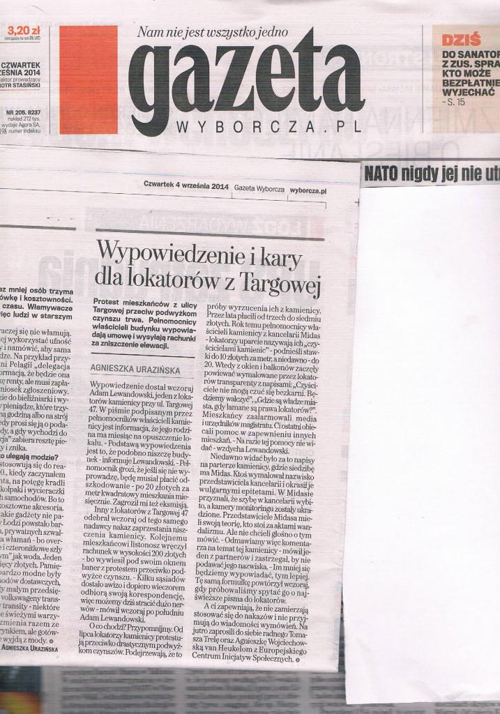 GW 04_09_2014 Targowa