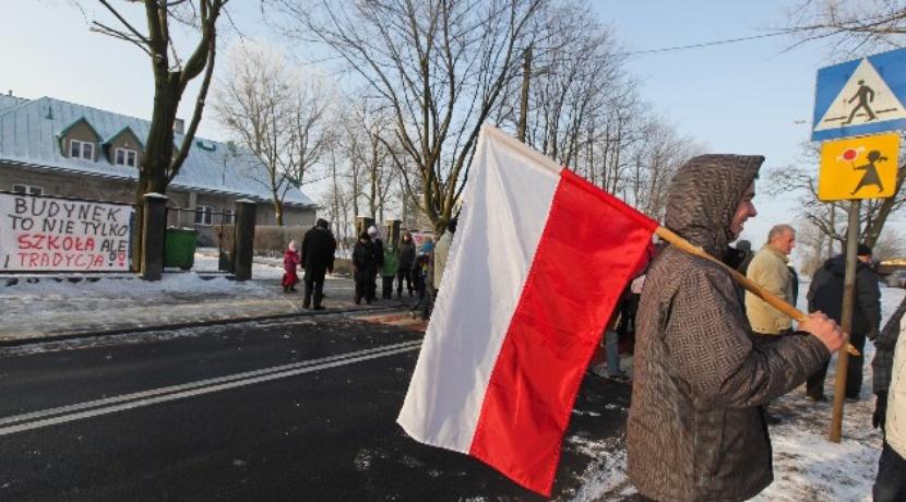 Mileszki protest