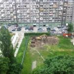 Na terenie z którego ograbiono spoldzielców  rozpoczyna się budowa Akademika