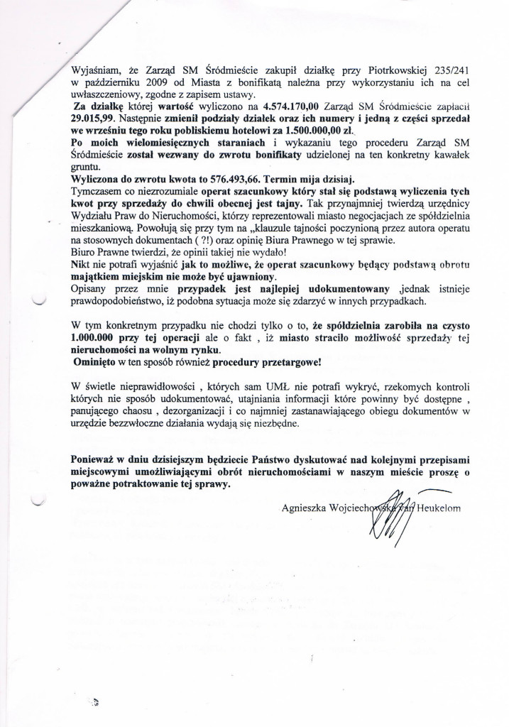 List otwarty do Radnych str_2 05_12_2012