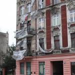 Pozbawiony bramy budynek przy ul.Targowej