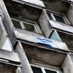 Piotrkowska 204/210 widok od strony podwórka
