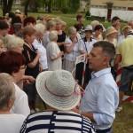 mieszkańcy osiedla Nowe Rokicie z redaktorem prowadzącym