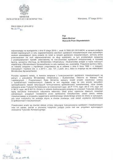 pismo MIN INF do RPO Bodnara
