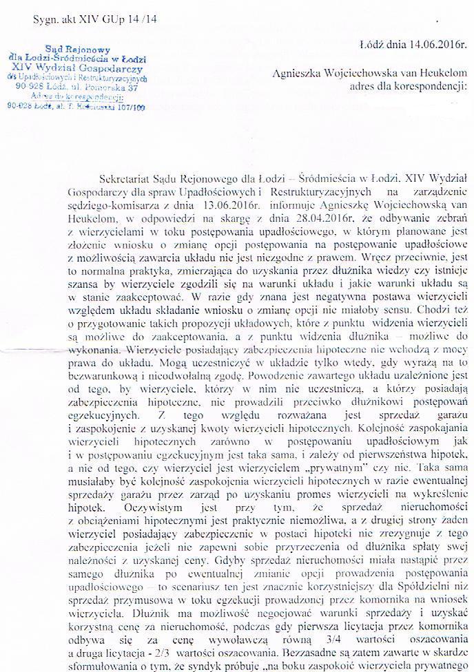 Pismo z sekretariatu sędzi komisarz 14_06_2016_1