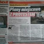 EI palny miejscowe z protestem
