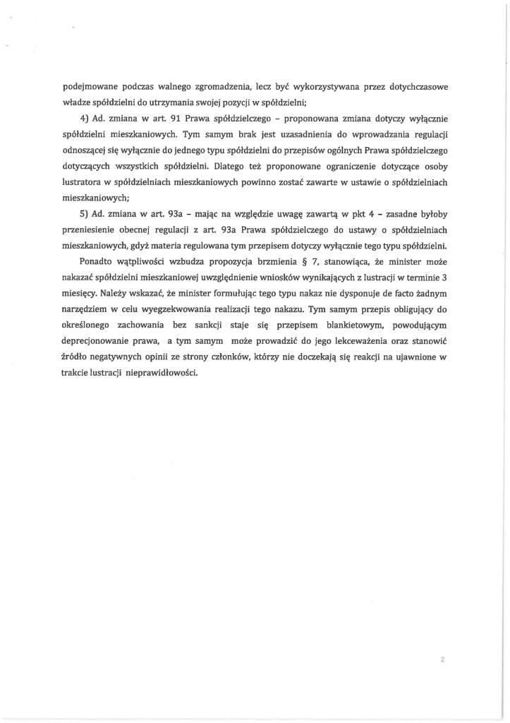 Opinia Ministerstwa Finansów do projektu MBiI 02