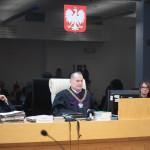Sąd Apelacyjny w Łodzi , który odrzucił apelację czyścicieli . Przewodniczył mu  SSA dr Michał Kłos ( zdjęcie dzięki Radio Łódź )