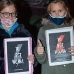 strajk kobiet dzieci wojna