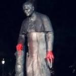 strajk kobiet pomnik papieża